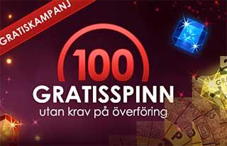 100 gratisspinn SverigeCasino