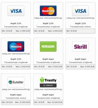 Superlenny betalningsmetoder