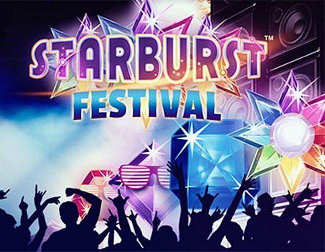 Starburst festival hos Leo Vegas